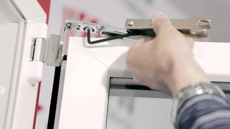 Reglare verificare si demontare mecanism geam termopan